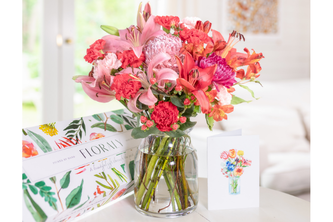 flowers as a classic Valetnine's gift